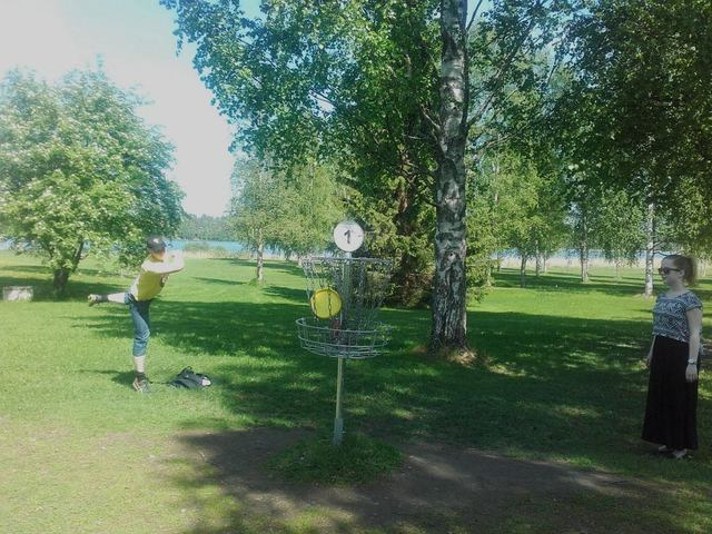 Rinssi eversti frisbee golf